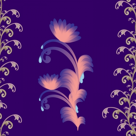 sammer: eps10 vector floral design   abstract background