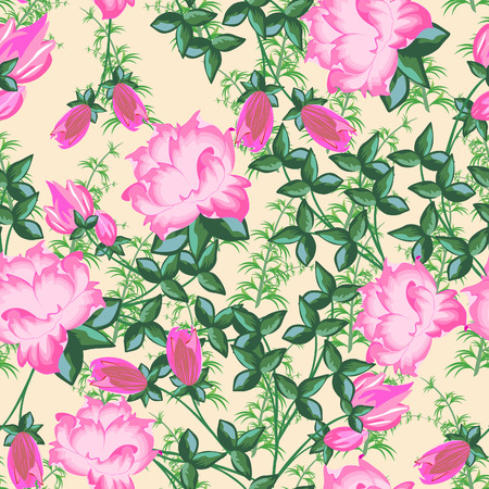 contrasty:  floral seamless pattern  Abstract beautiful vector illustration texture