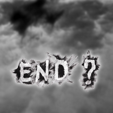 this is blend for end of everthing Stock Photo - 17470238