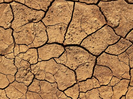 soil drought crack texture background