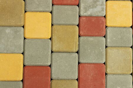 paving slabs texture background close-up