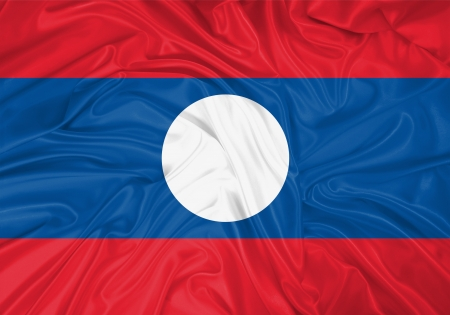 flag of laos, laos, flag laos, flag asian, flag, south east asia, laos symbol, waving flag, country, asia, national flag, flag of asian , wind Stock Photo - 15853881