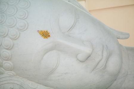 reclining: Reclining Buddha,Wat Pha Phu Kon Temple, Udon Thani, Thailand