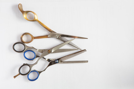 tijeras cortando: Cortar serie tijeras