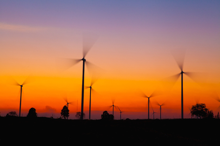 windmill silhouette on suset background stock photo picture and