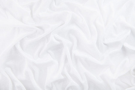 background crumpled of white cloth. texture