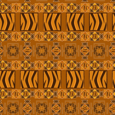 primitives: Abstract African background