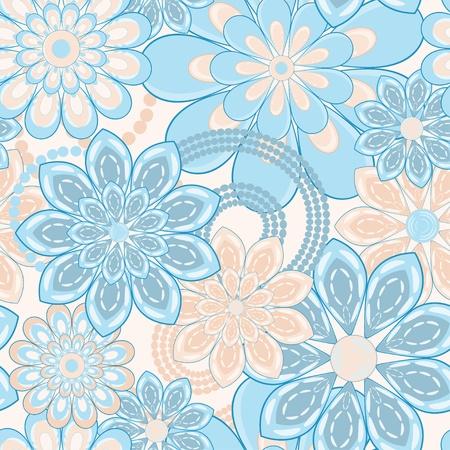 꽃 패턴 원활한 배경