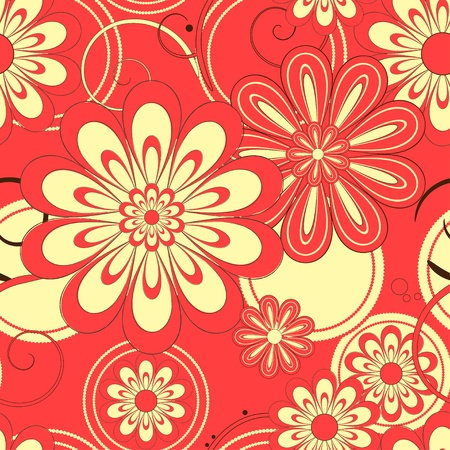 Flower pattern seamless background Stock Vector - 13149849