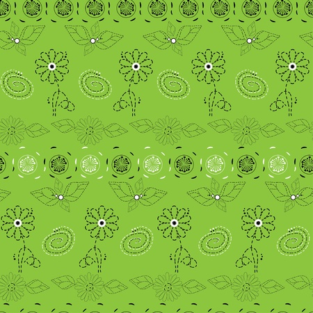 Floral background seamless Stock Vector - 13149852