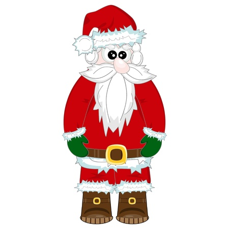Santa Claus illustration for Christmas and New Year  Stock Vector - 14284187