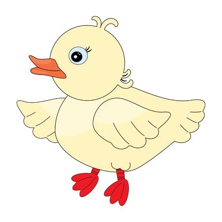 Cute duck pattern Illustration