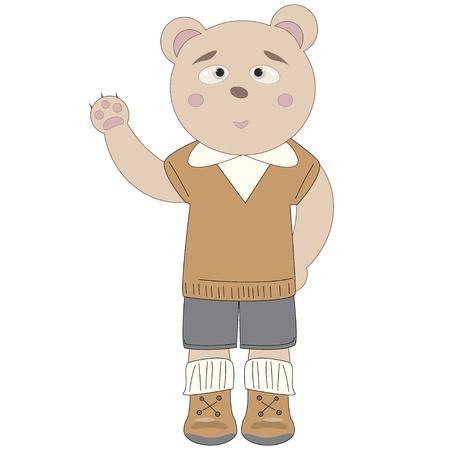 Bear boy.