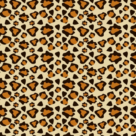 Cheetah skin seamless pattern Vector