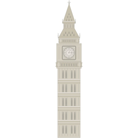 Big Ben pattern  Vector illustration  Stock Vector - 17749875