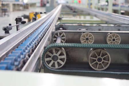Roller Belt, Banda transportadora, cadena de producción de la fábrica