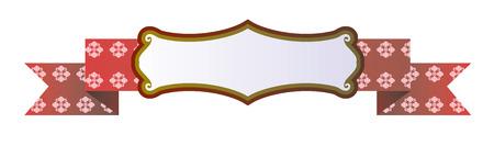 chatbox: Vector ribbon