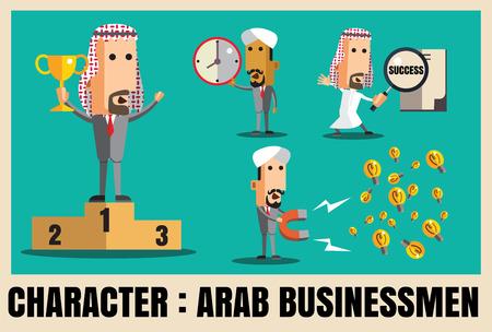 charactor: Charactor of arab businessmen