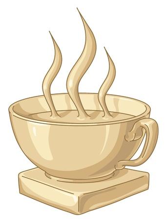 Golden award to the best coffee drinker.