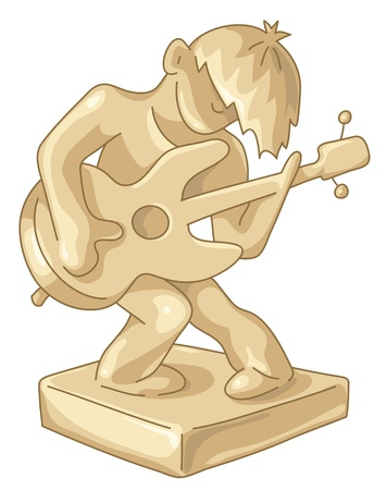 Golden award to the best guitar player.
