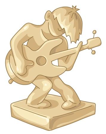 Golden award to the best guitar player.