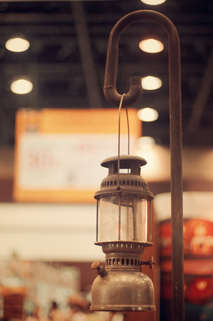 rusty vintage and very old lantern