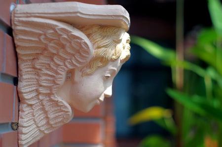 putto: statue decoration Stock Photo