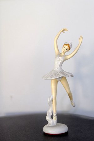 beautiful statues of ballerinas photo