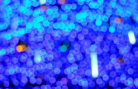 blurring: Blurring the image colourful festive lights