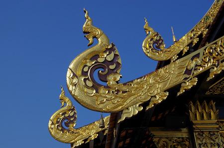 apex: Statues Gable Apex, Lanna style Thailand