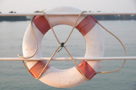 flotation: Lifebuoy Stock Photo