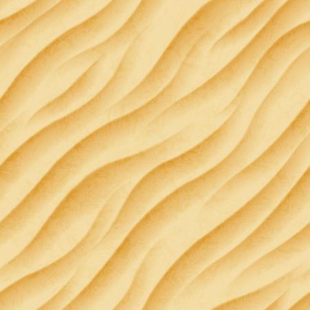 Summer sandy background, seamless Ilustração