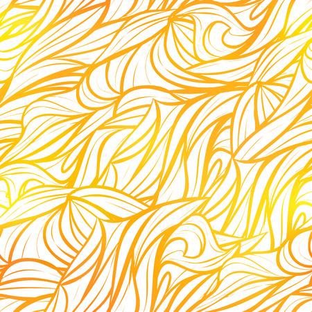 Seamless yellow pattern Ilustração