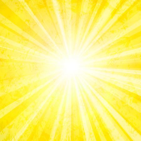 Vector sun background