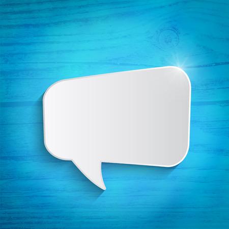 Speech bubble Ilustração