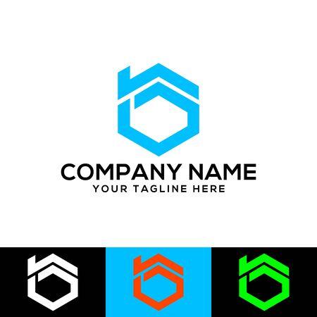 B real estate logo design. B letter icon design for real estate company. B home icon logo design. Real estate company logo design. Construction and real-estate company logo. Logo