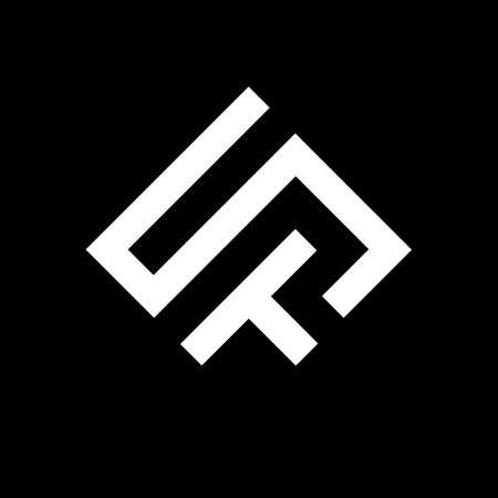 ST letter logo design. S T logo design. ST Vector