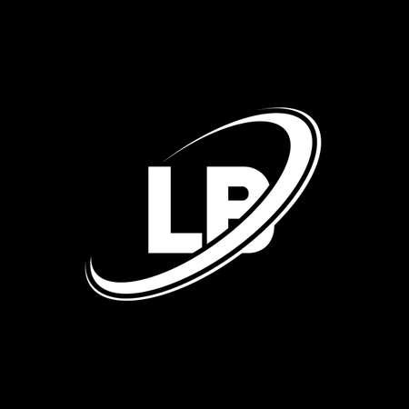 LB L B letter logo design. Initial letter LB linked circle uppercase monogram logo red and blue. LB logo, L B design. lb, l b