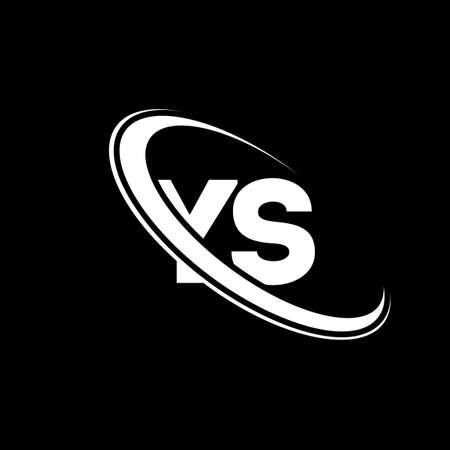 YS logo. Y S design. White YS letter. YS/Y S letter logo design. Initial letter YS linked circle uppercase monogram logo.