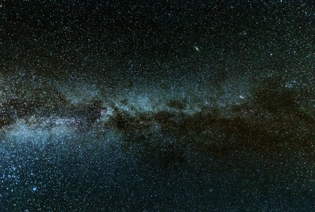clearly: Clearly Milky Way galaxy found in Russia at night