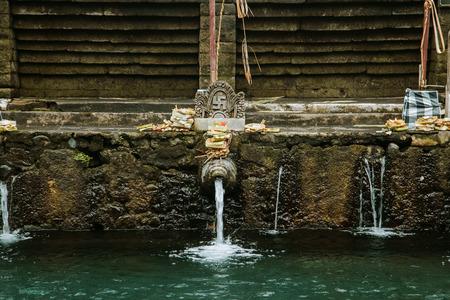 Pura Tirta Empul. Temple in Bali, Indonesia Stock Photo