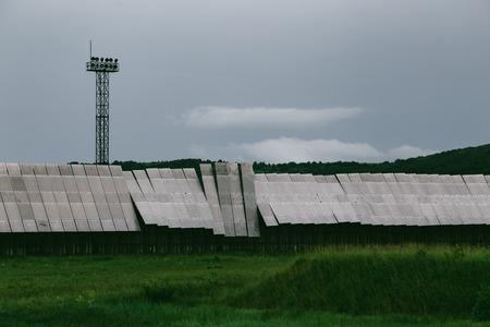 Big radio telescope SAO RAS. Zelenchukskaya, Karachay-Cherkessia, Russia Stock Photo