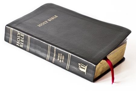 Biblia na biaÅ'ym Zdjęcie Seryjne
