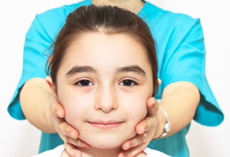 Physiotherapy for children with cervical problems photo