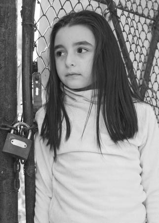 ojos tristes: Muchacha triste