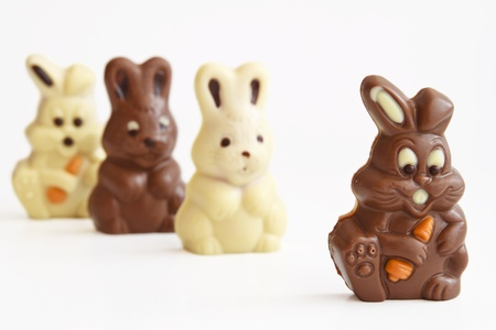 black rabbit first before all- Chocolate Easter Bunny