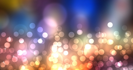 colorful flow like abstract image with bokeh