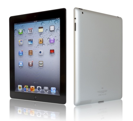 display retina: Wi-Fi + 4G iPad 3 with iOS 5.1 by Apple Inc, the third generation iPad was released for sale by Apple Inc on March 16, 2012. The New iPad 3 boasts a stunning retina display. Editorial