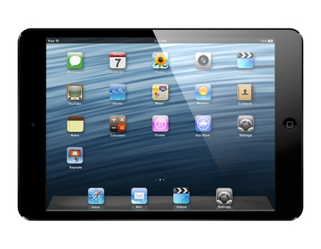 October 23, 2012 - Apple  today introduced iPad  mini, a completely new iPad design that is 23 percent thinner and 53 percent lighter than the third generation iPad.