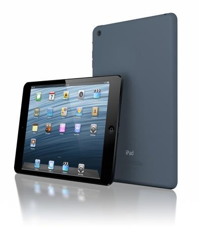 ガラティ、ルーマニア - 2012 年 11 月 29 日 - アップル iPad のミニ, は薄く 23 % と 53 %、第 3 世代の iPad に比べて軽く、完全に新しい ipad とデザイン 報道画像